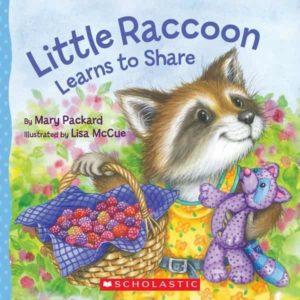 Anthropomorphisme dans les histoires pour enfants Little Raccoon