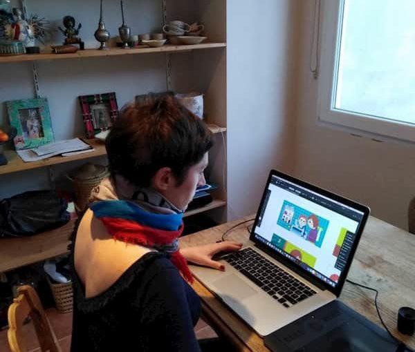 Rencontre avec Émilie Lapeyre, Illustratrice Jeunesse pour Touk Touk