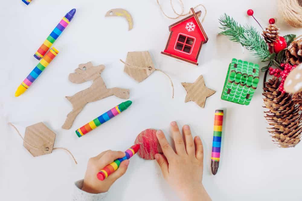 Décorations de Noël en carton