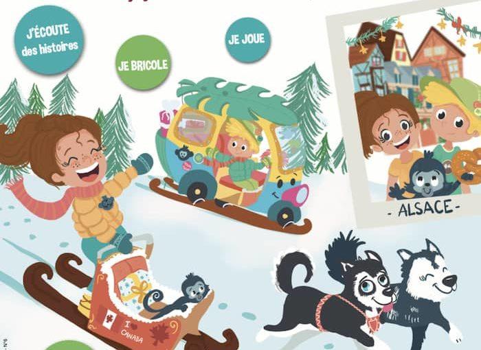 Cadeau de Noël pour Enfant : l'Abonnement à Touk Touk Magazine