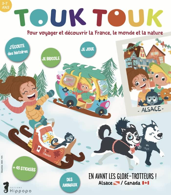 Touk Touk Magazine jeunesse cadeau de Noël