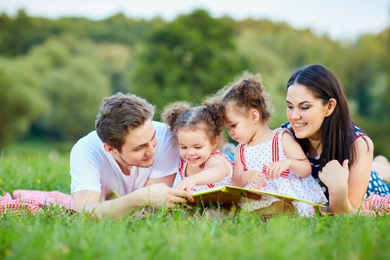 Famille livre enfants écologie