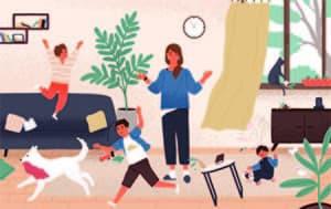enfants en colère parents zen