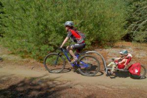 voyage vélo enfant wehoo